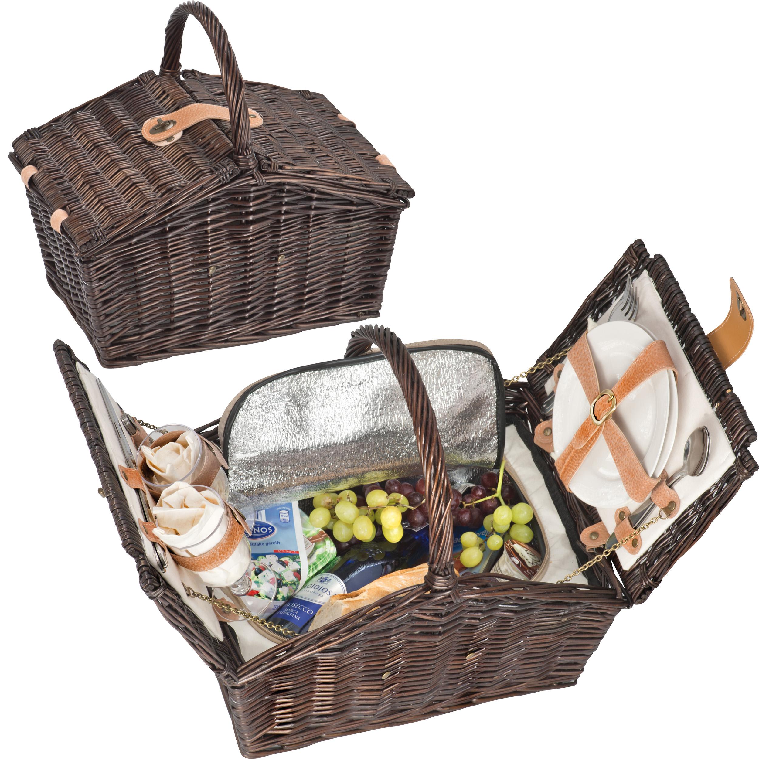 Picnic Baskets<br> Weidengefl. / 2<br>pers.